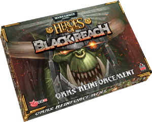 Warhammer 40,000: Heroes of the Black Reach - Orks Reinforcements Army Box